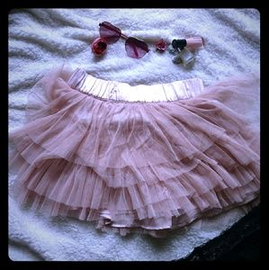 H&M tutu mini skirt